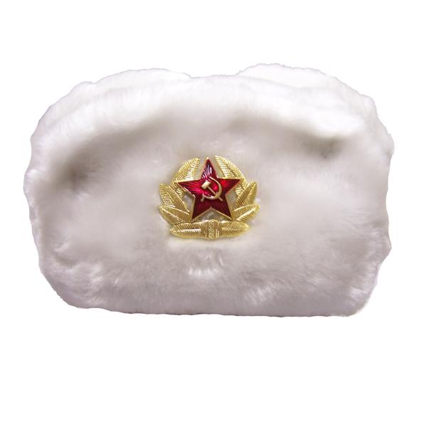 Шапка солдатская СССР-зимний вариант.